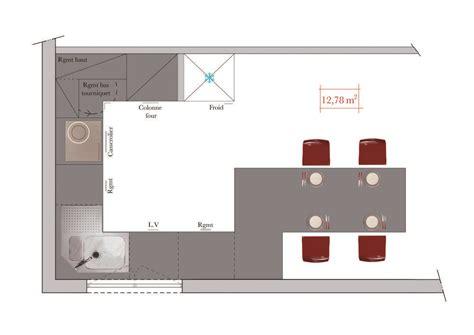 Plan Salon Cuisine Sejour Salle Manger Maison Design Wwwkotaksuratco - Plan salon cuisine sejour salle manger