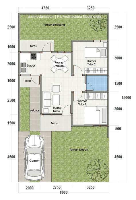 denah rumah ukuran   rancangan model denah tanah    terkini idenahrumah  denah