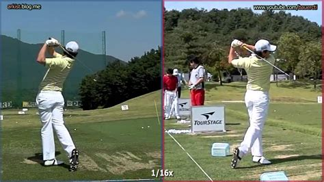 rory mcilroy iron swing sequence 300fps slow rory mcilroy iron golf swing front and