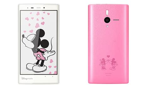 Mickey Minnie Mouse Original Disney Japan Smart Phone Stand softbank unveils android powered disney mobile handset
