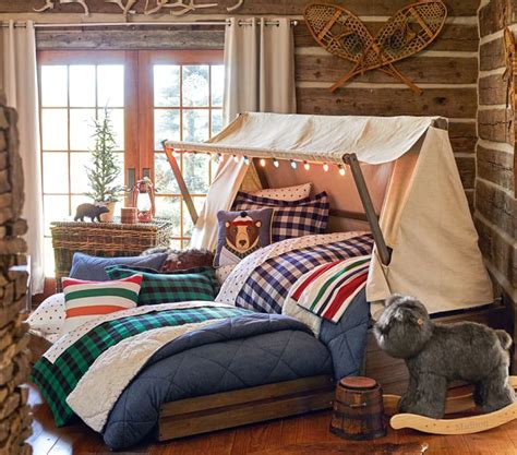cabin themed bedroom kids cabin theme bedrooms rustic decor