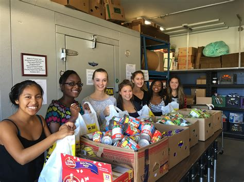 Helping Food Pantry by Bonsall High Students Help At Food Pantry News