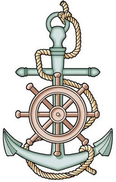 anchor and wheel tattoo designs ship steering wheel anchor tattoos book 65 000