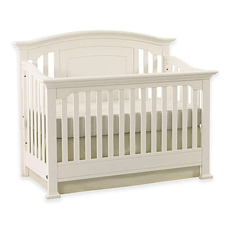 White Baby Cribs For Sale Kingsley Brunswick 4 In 1 Convertible Crib In White Buybuy Baby