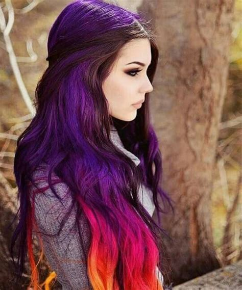 middle aged women who dye their hair magenta 17 best ideas about multicolored hair on pinterest