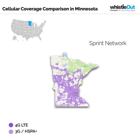 sprint usa coverage map best cell phone coverage in minnesota whistleout