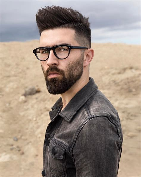 S Hairstyle Glasses Beard by Mens Glasses Beards Mens Glasses Mens