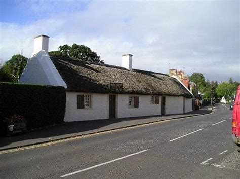Burns Cottage by Burns Cottage Alloway Picture Of Robert Burns Birthplace