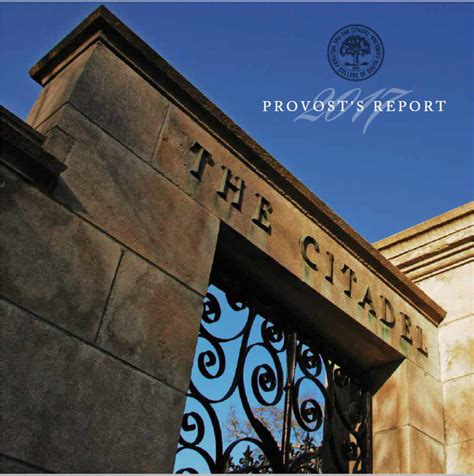 Millsaps College Mba Ranking by Office Of The Provost The Citadel Charleston Sc