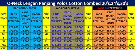 Miyo Print Kaos Oblong Panjang Anak M L Besar kaos murah sablon konveksi pasar rebo jakarta timur grosir