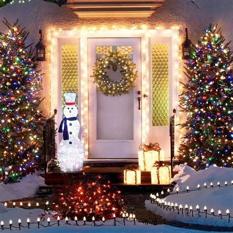 exterior holiday light ideas outdoor lighting ideas