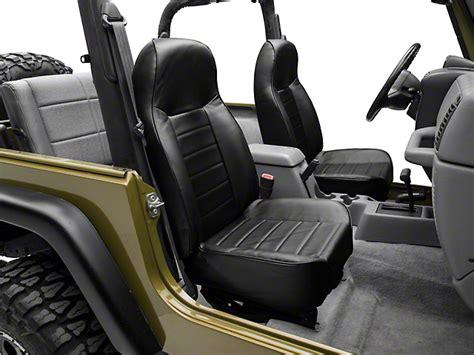 Jeep Wrangler Tj Seats Smittybilt Wrangler Standard Front Seat Black