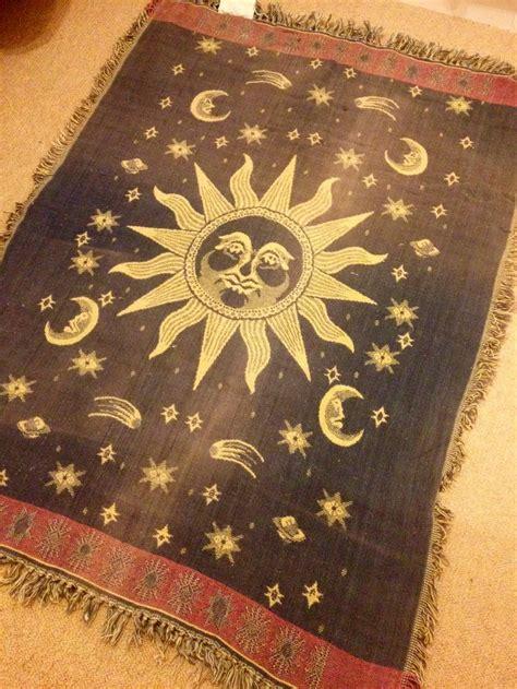 moon and rug celestial rug