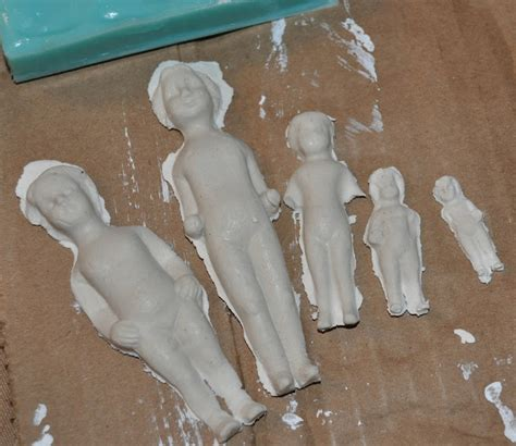 How To Make Paper Clay Dolls - 361 best paper mache images on