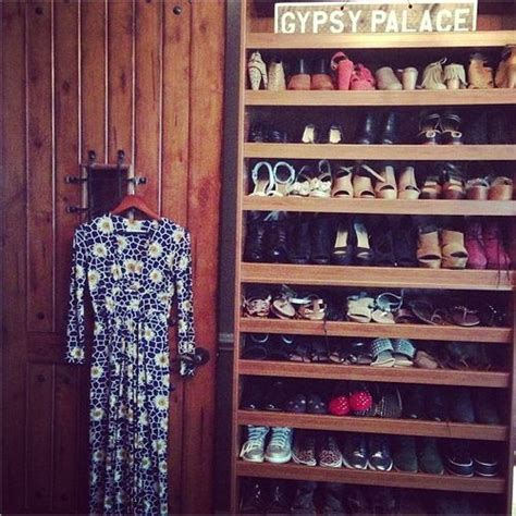 In Closet Hudgens by Hudgens Snaps A Picture Of Shoe Closet For