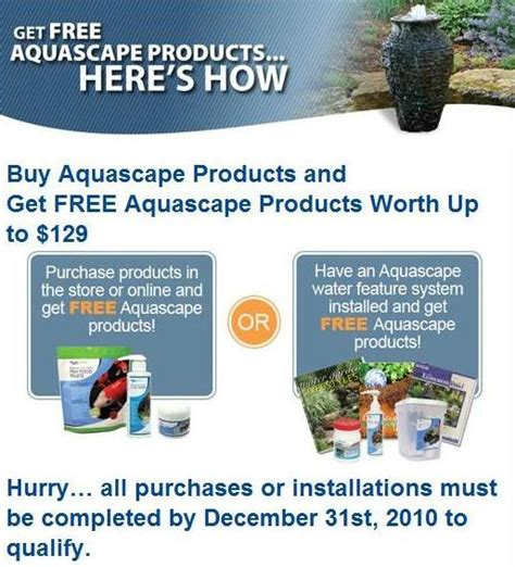 aquascape pond products the pond outlet blog 187 blog archive 187 a great offer from