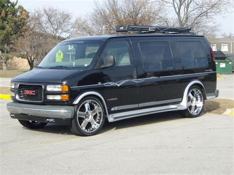 sshaun 2000 gmc savana 1500 passenger specs photos