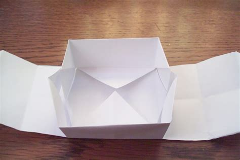 How To Make A Box With A4 Paper - origami how to make a paper box easy origami box how to