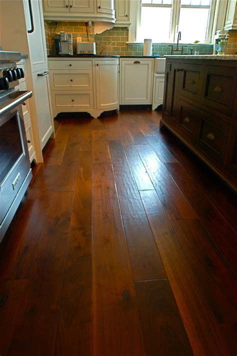 country floor random width french country walnut hand scraped