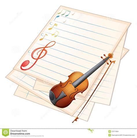 una carta conto con le stesse funzionalit di un carta di credito una carta vuota con un violino e le note musicali