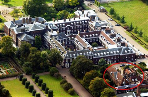 who lives in kensington palace catherine duchess of cambridge will welcome new neighbour
