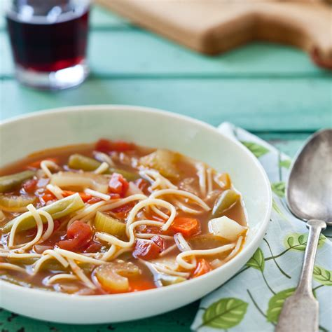 vegetable noodle soup recipe quick from scratch vegetable main dishes food wine