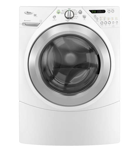 whirlpool 174 3 8 cu ft duet 174 steam front load washer wfw9550ww white