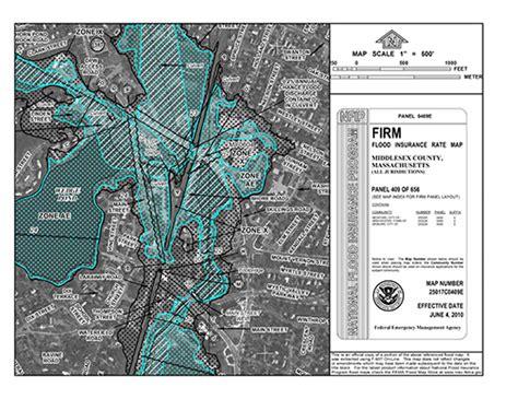 fema flood insurance rate map flood maps winchester ma official website