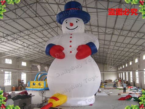 large inflatable christmas decorations uk