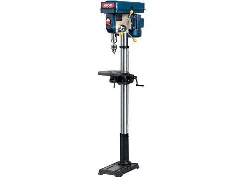 pedestal drill drills ryobi 16mm 16 speed 3 4 hp pedestal drill press