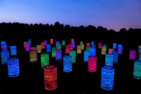 Longwood Gardens Light Show by Longwood Gardens Light Installations By Bruce Munro