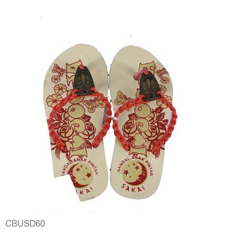 Baju Atasan Tali Kepang sandal batik anak tali kepang sakai sandal etnik murah