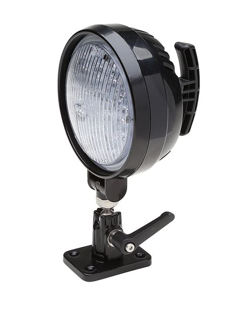 work light whelen par 36 round super led 174 work light with pedestal