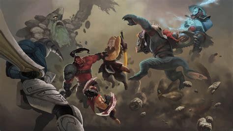 epic battle hq art dota 2 wallpapers dota 2 battle in sand dota 2 wallpapers