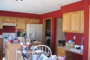 Red Kitchen Paint Ideas kitchen cabinets colors on how to paint a kitchen red ehow red paint