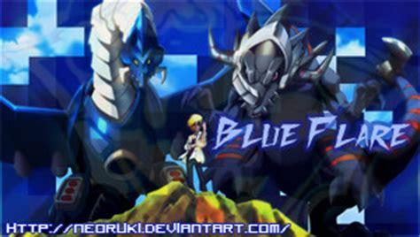 theme psp digimon digimon xros wars blue flare psp theme by neoruki on