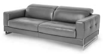 Dark Gray Leather Sofa Aico Mia Bella Novelo Dark Grey Leather Sofa Mb Nvelo15 Dgr 13