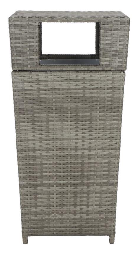 patb trash cans storage furniture  safavieh