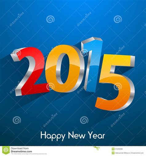 new years 2015 vacation time happy new year 2015 royalty free stock photos image
