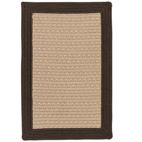 Home Decorators Outdoor Rugs Home Decorators Collection Beverly Brown 4 Ft X 6 Ft Braided Indoor Outdoor Area Rug