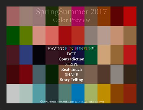 color trend 2017 ss2017 trend forecasting on behance