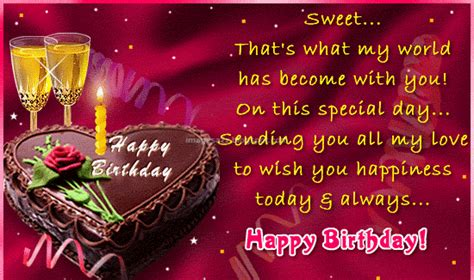 Wish You Happy Birthday Sms Happy Birthday Sms In English B Day English Sms