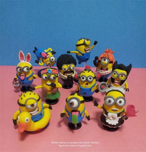 Modelling Clay Minion Phil 3422 best images about miscellaneous polymer clay on polymer clay earrings polymers