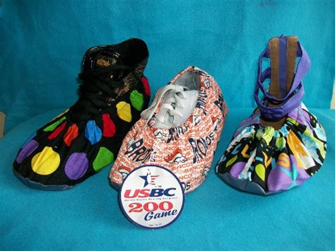 diy bowling shoes shoe covers pattern diy by a2zdesignsbylee on etsy