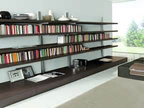 Designs Of Bookshelves On Wall Wall To Wall Bookcase Plans Wall Mounted Bookshelves
