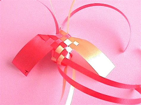 Origami Paper Ribbon - how to make a ribbon bird icandream