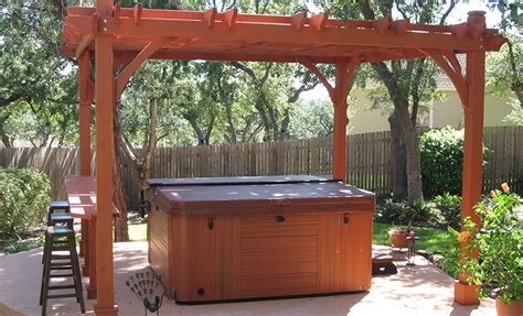 pergola tub pergola designs cost effective ideas to personalize a