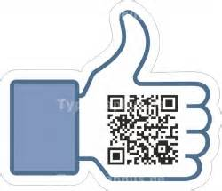Facebook Aufkleber Mit Qr Code by Social Media Facebook Google Twitter Foursquare