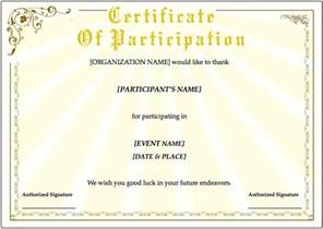 Certificate Template training certificate template for pages free iwork templates