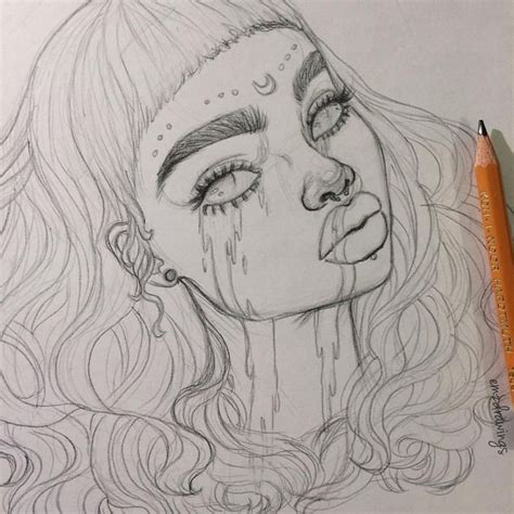 Aesthetic Drawings justgirlsstuff drawing zeichnungen